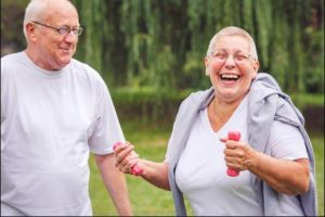 Falls can be an issue for older adults.