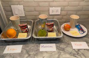 Organization of kids' snacks
