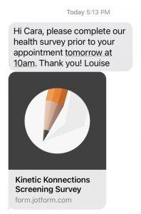 screening survey