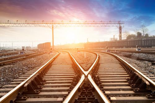 train tracks switching