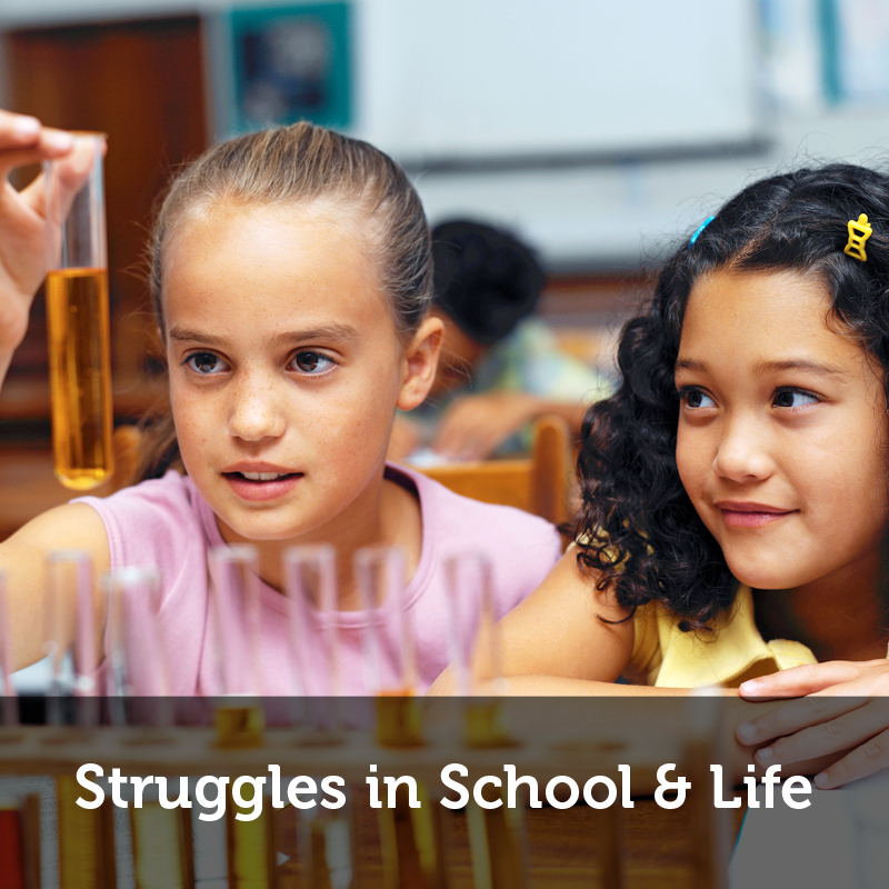 struggles in school and life