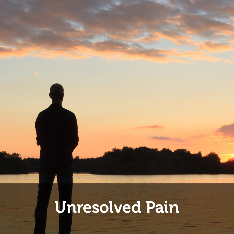 unresolved pain